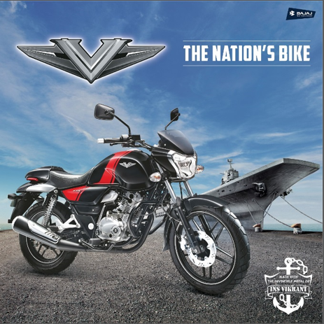 Bajaj V - The Nation's Bike